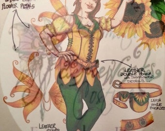 Design / Consultation / Down payment Cosplay OR Original Costume Character