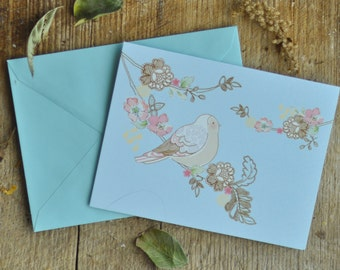 Add a card with a personalized message