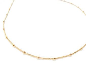 Delicate Dew Drop Necklace