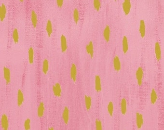 Windham Fabric's, Sunshine Serenade (Pink Flamingo/Gold) 40230M 2, 1 yard