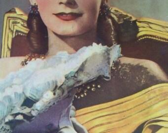 Greta Garbo Magazine Cover 1930's Worlds Most Expressive Face
