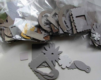 A grab bag of chipboard shapes