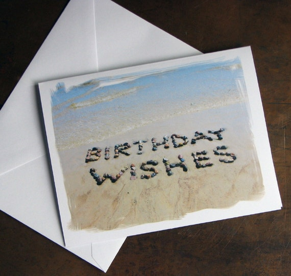 Beach Theme BIRTHDAY Cards BIRTHDAY WISHES Set Of 3
