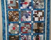 FINAL PAYMENT for a Custom  Treasured Memory Quilted Throw Reserved for Kim