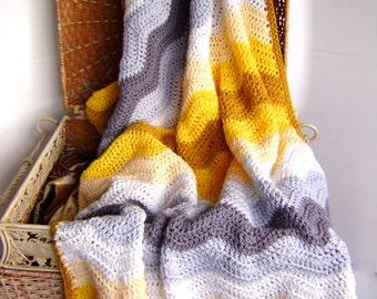 Anastasia's Wedding Blanket PATTERN - Great Couples Gift