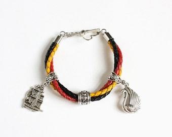 Captain Swan Leather Bracelet (OUAT)
