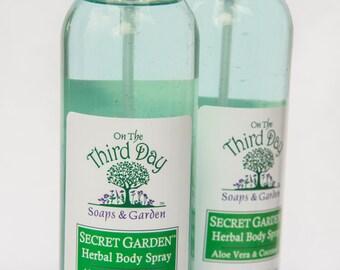 "Body Spray-Herbal ""Secret Garden"""
