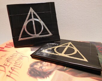 Harry Potter Deathly Hallows Duct Tape Wallet