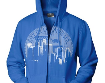 Los Angeles city of LA hoodie by Graphic Villain