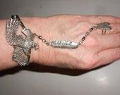 Slave Bracelet Biker Babe Chic Vintage Eagle Pewter Set -Tribal Style Gorgeous EJC Fashion Statement