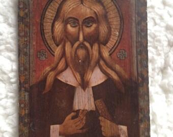 Religous Christ Miniature Portrait