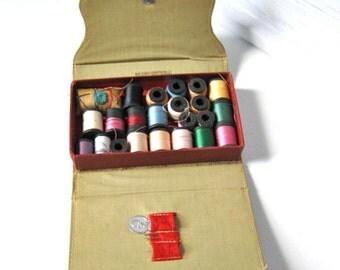 Vintage Sewing Kit /  Belding- Corticelli