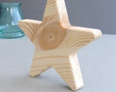 Solid Wooden Stars