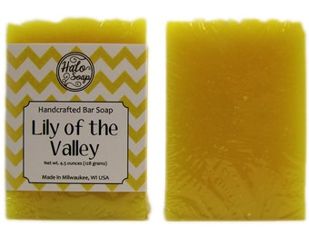 Soap - Lily of the Valley Handmade Bar Soap - Vegan Soap