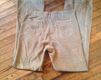 Vintage Levi's 1970's Brushed Cotton Pants Mens 34 x 34