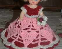 Christmas -Halloween Witch- 4th of July-Valentine  AIr Freshener Doll  Girl  Crochet Pattern