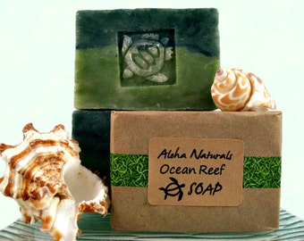 TURTLE GIFT, Soap with Turtle design, Gift from Hawaii for Girl, Boy, Man, Woman! 4.5 oz
