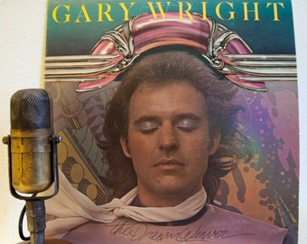 "Dream Weaver Gary Wright (Spooky Tooth) Vintage Vinyl Album 1970s Soft Rock Classic Rock & Roll Synthpop ""The Dream Weaver""(1975 WB Records)"