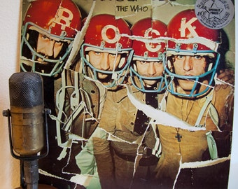 """ON SALE The Who Vinyl Lp Record Album Vintage 1970s British Classic Rock Pete Townshend Roger Daltrey Keith Moon """"Odds & Sods""""(1980 Mca re-i"""