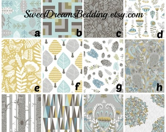 Custom Crib Bedding You Design   Bumper and Bedskirt Norweign