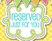 RESERVED FOR CATHY