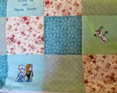 Frozen  Quilt - twin size (Reserved for Sarah)