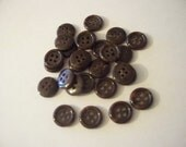Chocolate Brown Buttons
