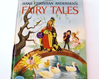 Vintage 1971 Hans Christian Andersens FAIRY TALES, Adapted by Eve Morel Illustrated By Simonne Baudoin - Collectable, Childrens Fairy Tailes