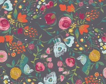 1 Yard of Budquette Nightfall, EMG-5607 from Art Gallery Fabrics.