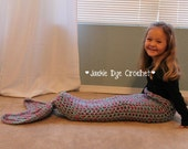The ORIGINAL Crochet Mermaid Tail Blanket