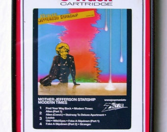 Mother Jefferson Starship, 8-Track Tapes and Japes Pop Art by Zteven