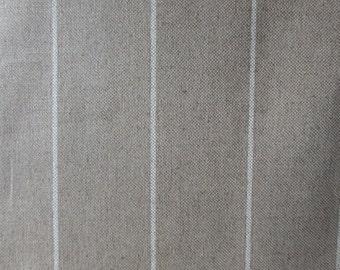 LINEN small STRIPE French Laundry designer multipurpose fabric