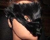 Tribal Fox mask, for halloween, festivals, garb, LARP, fun