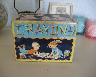 J. Chien Crayon Box