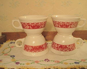 Four Syracuse China Restaurant Ware Cups