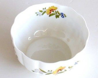 Porcelain Bowls, Cottage Garden, Bone China, By Aynsley, Made in England, Ceramic Bowl,
