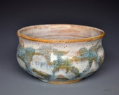 Mottled Stoneware Tea Bowl Ceramic Chawan A