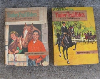 timber trail riders set mid century fiction dave talbot sunny saunders whitman gift idea