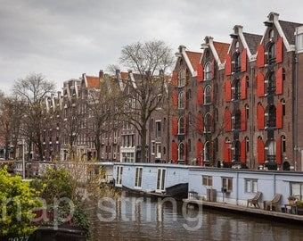 Amsterdam Canal Photography