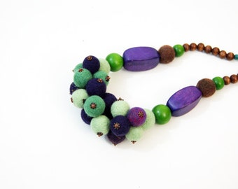 Evening Multicolor Necklace Christmas Gift