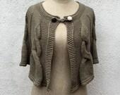 Vintage Irish Hand Knitted Poncho - The Irish Dance