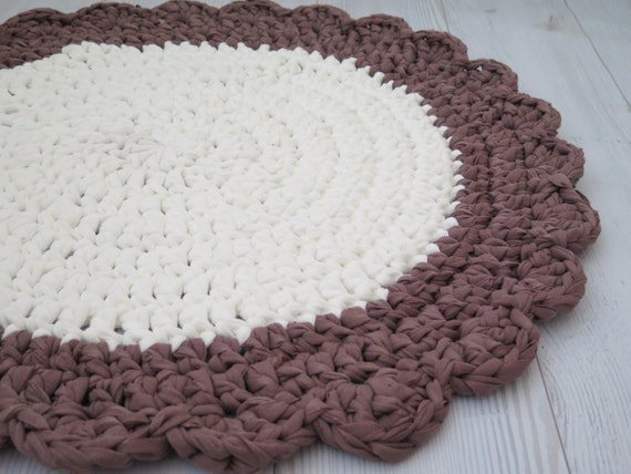 area rug crochet small round rug bath mat kitchen mat