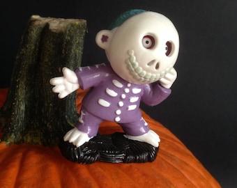 vintage Tim Burton's Nightmare Before Christmas pvc plastic Barrel figurine