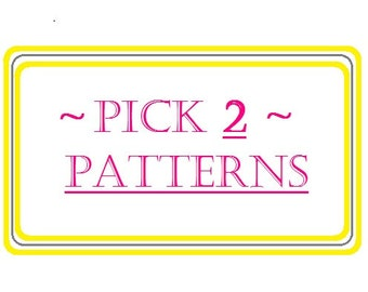 Pick 2 Patterns