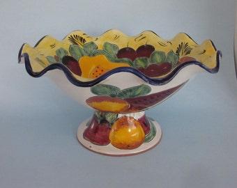 ceramic fruitbowl