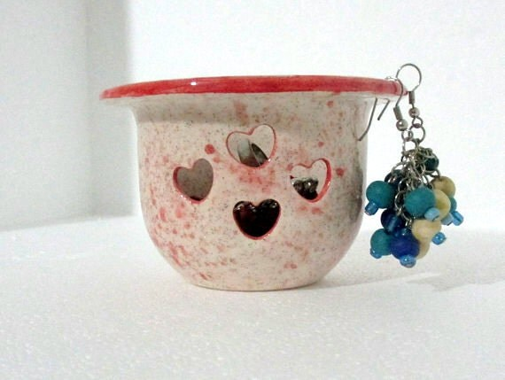 handmade ceramic earring holder jewelry by nazsceramics on