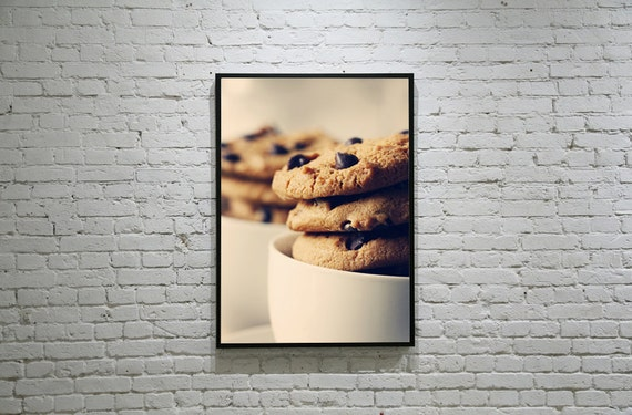 Chocolate Chip Cookies Photo, Still Life Food Photography, Cookies Photo, Choc Chip Cookies, Biscuits, Sweet, Chocolate, Vintage Food Photo
