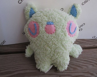 Pastel Raccoon Plush