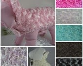 Fur Dog Coat Reversible - Any Fabric - Any Size - Item 5303