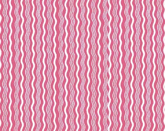 SALE - One Yard - Hipster Crimp in Hot Pink by Riley Blake
